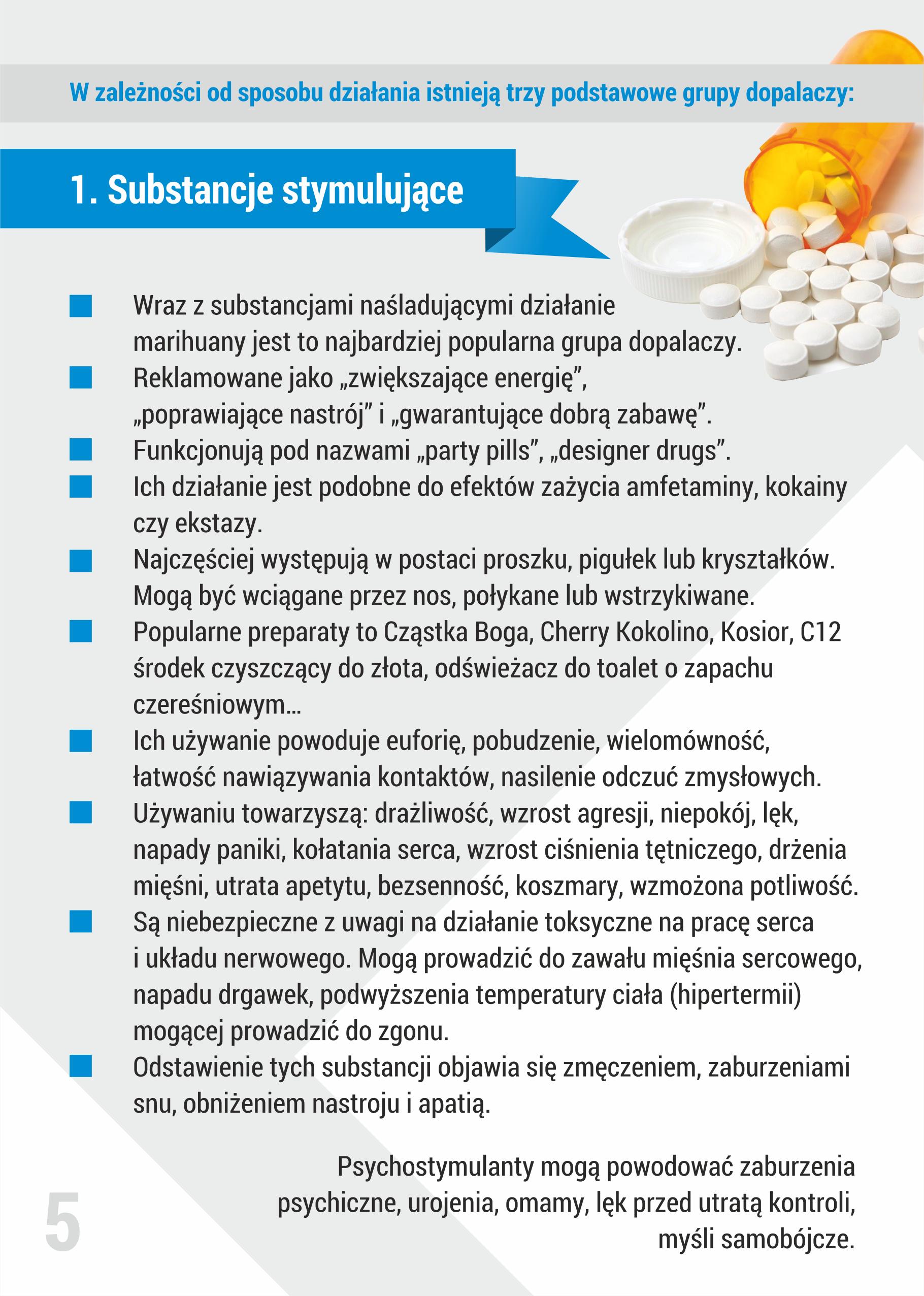 Informator: Dopalacze Nowe Narkotyki
